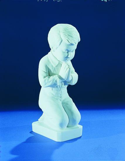 """Praying Boy (13"""") memorial"""