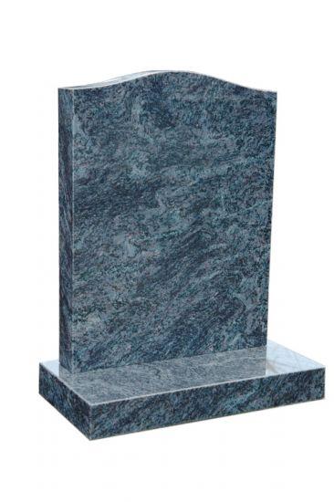 Mendip Lawn - Bahamas Blue Granite  memorial