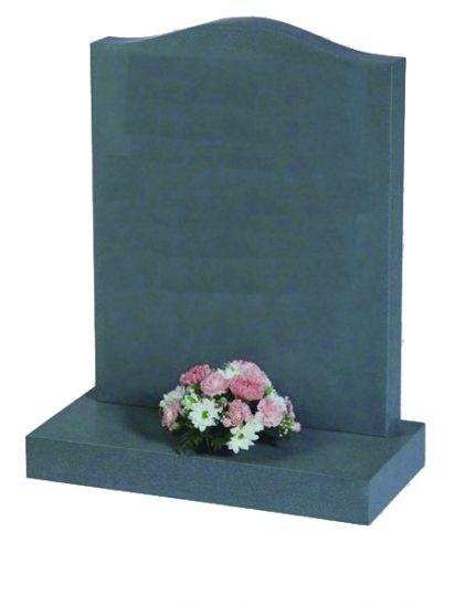 British Slate Ogee Lawn Memorial  memorial