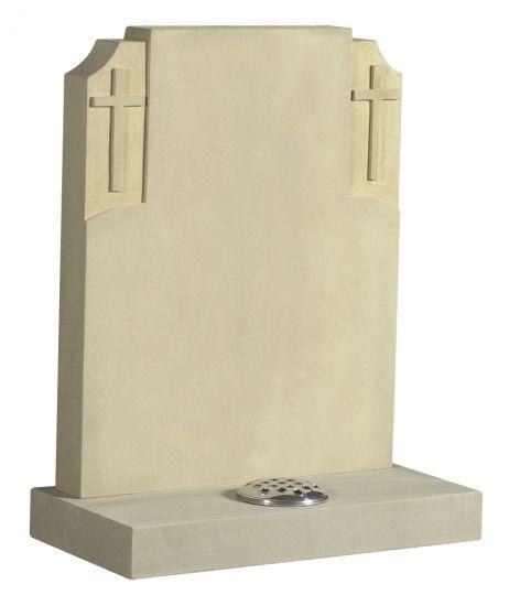 Yorkstone Cross lawn memorial  memorial