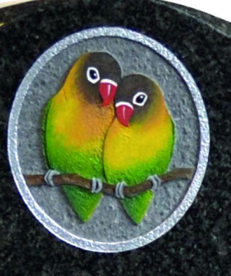 Love Birds memorial