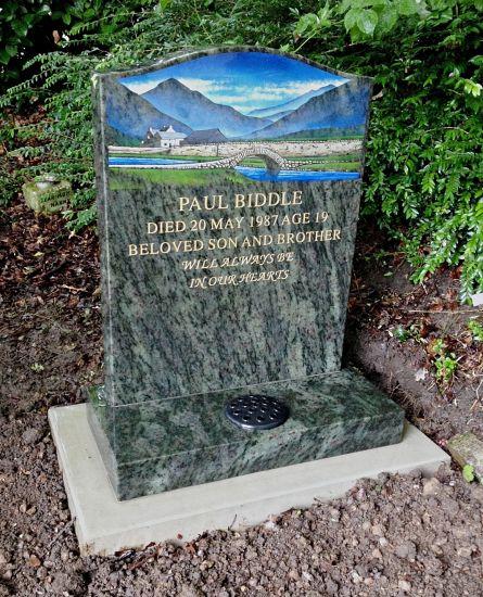 Biddle memorial