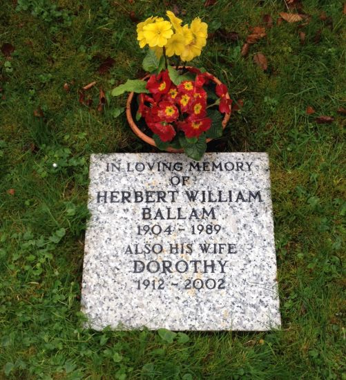 Ballam memorial
