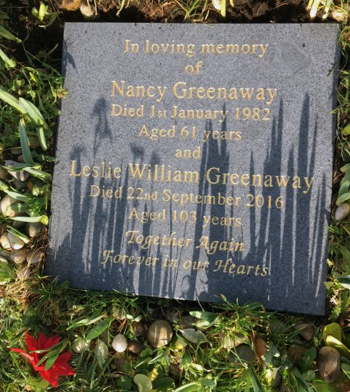 Greenaway memorial